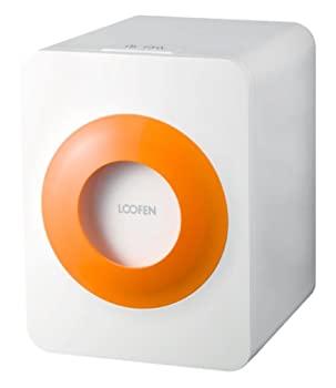 配送員設置送料無料 中古 LOOFEN 温風乾燥式 エコ 生ごみ処理機 オレンジ ホワイト セール価格 LF-07