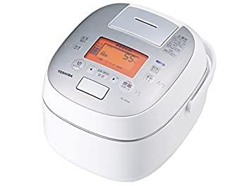 本物の 【】東芝 真空圧力IHジャー炊飯器(5.5合炊き) グランホワイトTOSHIBA 鍛造かまど銅釜 RC-10VSK-W, 米粉の手焼きドーナツ いなほや e0e623b4