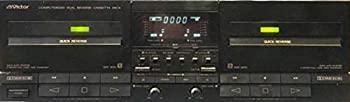 中古 victor wクイックリバース 本物 カセットデッキ セット プレゼント オリジナル布ダストカバー 新発売 TD-E7000
