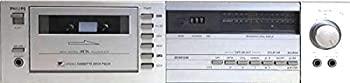 中古 ショップ PHILIPS カセットデッキ F6225 セット 00 プレゼント 贈呈 オリジナル布ダストカバー