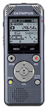 中古 OLYMPUS ICレコーダー VoiceTrek 4GB 5☆大好評 GRY テレビで話題 グレー WS-805 リニアPCM対応 FMチューナー付