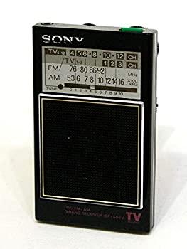 中古 SONY ソニー ICF-S55V ザ 感度 NEW 1-12 ポケットラジオ TV 無料サンプルOK FM スーパースター 推奨 MW