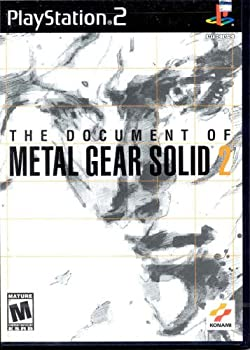 海外限定 中古 格安店 Metal Gear Solid Dvd 2 Document Game