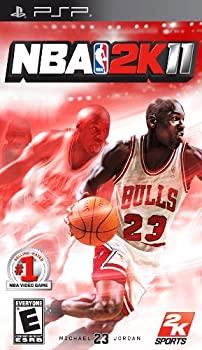 中古 NBA 2K11 輸入版:北米 アジア - テレビで話題 PSP 新色追加