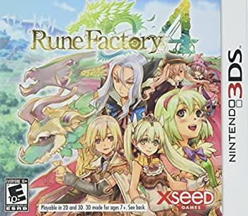 中古 Rune おしゃれ Factory 値下げ 4 - 北米版 3DS ※国内版本体動作不可 Nintendo