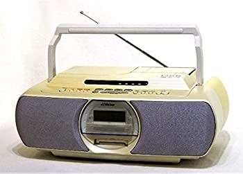【中古】Victor ビクター JVC RC-G1MD-W ホワイト CD-MDポータブルシステム Clavia クラビア (CD/MDデッキ)(ラジカセ形状)