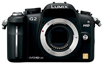 パナソニック デジタル一眼カメラ G2ボディ コンフォートブラック DMC G2 KNnOv80wm