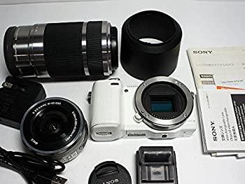 中古 ソニー SONY ミラーレス一眼カメラ 公式サイト α NEX-5RY NEX-5Rダブルズームレンズキット W ホワイト 値引き