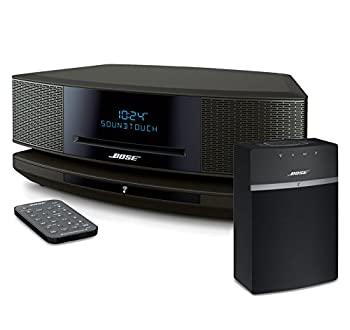中古 Bose Wave SoundTouch IV - Platinum Silver 10 並行輸入品 Systems Music Black Bundle Wi-Fi 販売 国産品