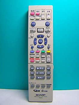 中古 新着セール シャープ 商品 HDD GA423PA DVDリモコン