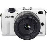 【中古】Canon ミラーレス一眼カメラ EOS M2(ホワイト) EOSM2WH-WLK ボディのみ