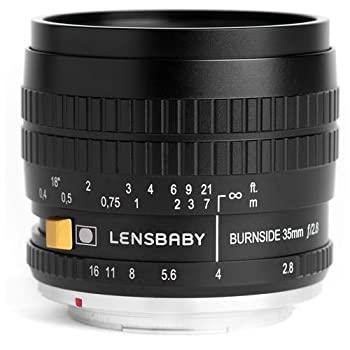 中古 Lensbaby Burnside 35?35?mm X 2.8レンズfor Fuji 新生活 ラッピング無料 f