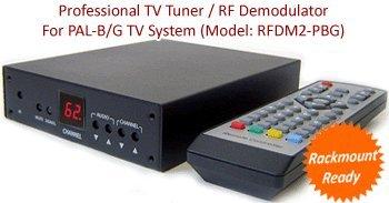 至上 中古 RF COAX TOコンポジットビデオオーディオDemodulator PAL Gシステム TVチューナーfor B 全国どこでも送料無料
