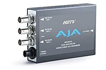 中古 Aja hd10ava SD hd-sdi with埋め込みオーディオ おトク プレゼント HDアナログコンポジットまたは4チャネルアナログコンポーネントビデオオーディオto
