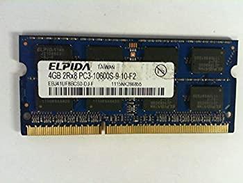 ELPIDA EBJ41UF8BCS0-DJ-F 4GB NOTEBOOK SODIMM DDR3 PC10600(1333) UNBUF 1.5v 2RX8 204P 512MX64 256mX8 [並行輸入品]:オマツリライフ別館