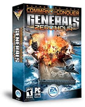 中古 Command and 選択 Conquer Generals: Zero Hour 輸入版 Expansion Pack 新作送料無料