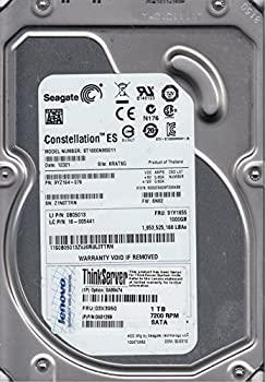 中古 Seagate 3.5インチ内蔵HDD SATA 1着でも送料無料 直輸入品激安 6Gb 1TB 64MB ST1000NM0011 7200rpm s