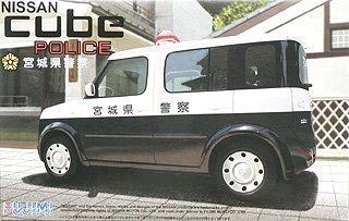 中古 フジミ模型 1 24 キューブパトカー宮城県警 自動車SPOTシリーズ 新作販売 自SP48 買取