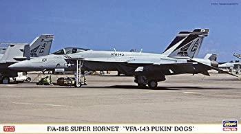 中古 送料無料激安祭 ハセガワ 1 日本正規代理店品 72 F ホーネット A-18E スーパー ピューキンドッグズ VFA-143