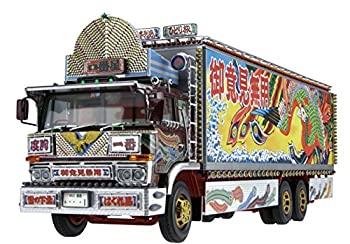 中古 青島文化教材社 1 32 全品送料無料 当店は最高な サービスを提供します トラック野郎シリーズ リテイク プラモデル 一番星 故郷特急便 No.1