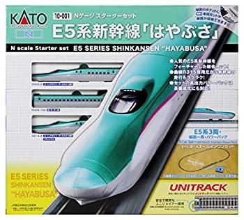 中古 手数料無料 KATO モデル着用&注目アイテム Nゲージ スターターセット E5系 10-001 鉄道模型入門セット はやぶさ