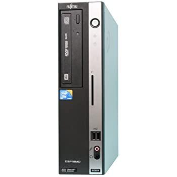 中古 富士通 セットアップ 省スペースデスクトップ FMV-ESPRIMO-D530A A 7P Windows7 スーパーマルチ 店 Pro 297231 320GB 2.9GHz Core2Duo メモリ実装4GB