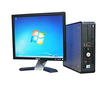 中古 Dell Win7Pro 64Bit 人気 おすすめ メモリー8GB PC DELL Optiplex dtb-265 Duo 19型液晶 Core 2 E7500 780SF 通販 DVD