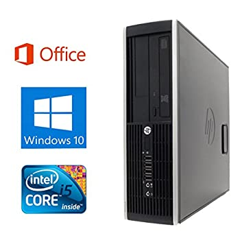 中古 Microsoft 海外並行輸入正規品 Office 2016搭載 Win 10搭載 HP 8100 3.2GHz メモリ4GB Core SSD 240GB DVDドライブ デスクトップパソコン i5 登場大人気アイテム