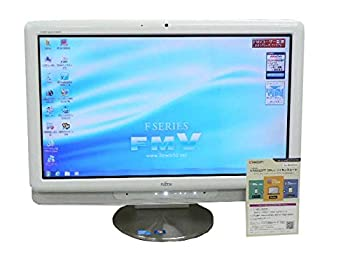 【中古】富士通 デスクトップパソコン パソコン F/G70T ホワイト タッチパネル デスクトップ 一体型 本体 Windows7 Core i5 ブルーレイ 地デジ 4GB/1TB