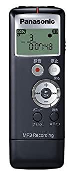 中古 パナソニック ICレコーダー 正規逆輸入品 70%OFFアウトレット 2GB ブラック RR-US330-K