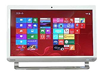 【中古】東芝 デスクトップパソコン パソコン D713/T7 ホワイト デスクトップ 一体型 本体 Windows8 Core i7 ブルーレイ 地デジ/BS/CS 8GB/2TB