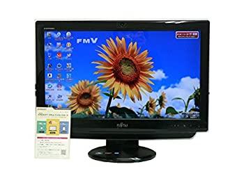 【中古】富士通 デスクトップパソコン パソコン EH30/DT ブラック デスクトップ 一体型 本体 Windows7 Athlon DVD 地デジ 4GB/1TB