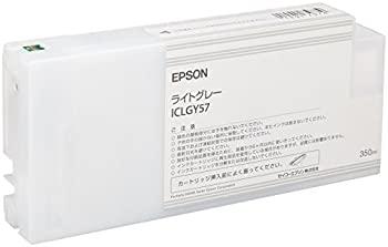 中古 セイコーエプソン インクカートリッジ ライトグレー 350ml ついに再販開始 ICLGY57 H8000用 格安激安 PX-H10000