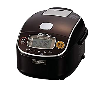 タイムセール 中古 象印 炊飯器 圧力IH式 3合 極め炊き プラチナ厚釜 ダークブラウン 買い取り NP-RY05-TD
