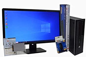 【中古】デスクトップパソコン (Office搭載) (23インチ FullHD (1920×1080) 液晶モニターセット) SSD 1TB (換装) HP EliteDesk 800 G1 SFF 第4世代