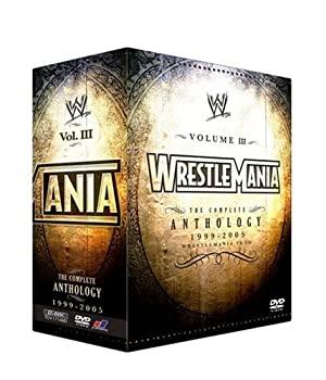 中古 WWE 激安挑戦中 人気ショップが最安値挑戦 レッスルマニア アンソロジーBOX3 3000セット限定 XV-XXI DVD