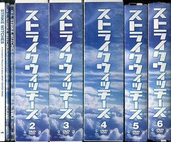 ストライクウィッチーズ 全6巻セットマーケットプレイス DVDセットN8OPkwn0XZ