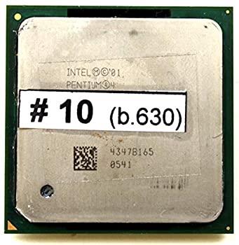 中古 CPU Intel Pentium 4?2.60?GHz 訳あり品送料無料 800?sl6wh 512? 輸入