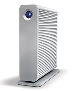 【中古】LaCie HDD 外付けハードディスク 3TB USB3.0 FireWire800 eSata Mac対応 d2Quadra LCH-D2Q030Q3