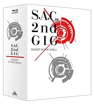 中古 攻殻機動隊 S.A.C. 2nd 人気急上昇 新作製品、世界最高品質人気! GIG Blu-ray BOX:SPECIAL Disc EDITION