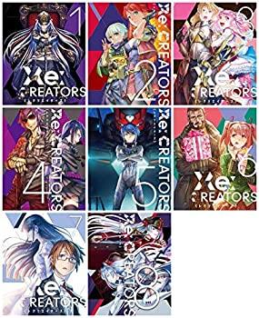 日本産 中古 Re:CREATORS 完全生産限定版 マーケットプレイス マーケティング Blu-rayセット 全8巻セット