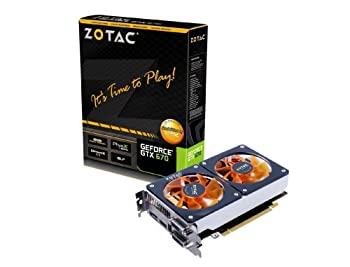 中古 ZOTAC GeForce GTX670搭載グラフィックカード GTX 670 ZTGTX670-2GD5TCR001 セール 登場から人気沸騰 VD4693 安い 日本正規代理店品 TWINCOOLER 2GB