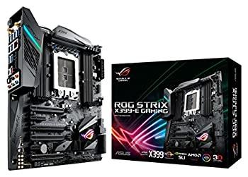 中古 ASUS 送料無料 激安 お買い得 キ゛フト AMD X399搭載 TR4対応 日本全国 送料無料 マザーボード E-ATX X399-E GAMING STRIX ROG