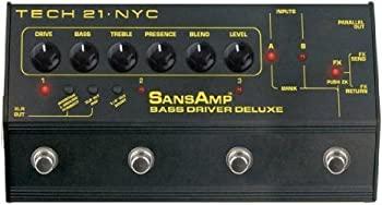 当社の 【】Tech21 SansAmp Bass Bass Driver (並行輸入) Deluxe DI ペダル Bass and Bass Driver (並行輸入), WisHWooD:394e5e1f --- verandasvanhout.nl