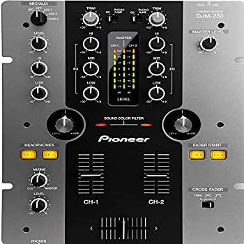 おすすめ特集 中古 Pioneer DJミキサー DJM-250-K ブラック 付与