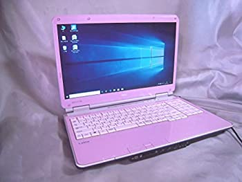 中古 超レア 本体 キーボード色:ピンク 光沢16型ワイド液晶 Blu-ray 再再販 Windows10 HDMI出力端子 10キー付キーボード NEC ドライブ搭載 無線LAN 時間指定不可