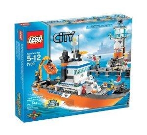 <title>中古 LEGO レゴ 7739 City Coast Guard 通信販売 Patrol Boat and Tower ブロック おもちゃ 並行輸入</title>