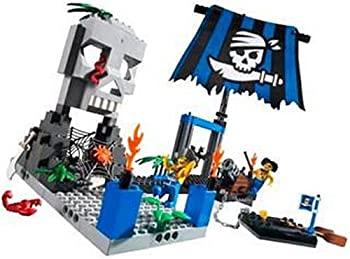 春の新作 中古 レゴ LEGO 期間限定今なら送料無料 パイレーツジュニア 7074 ガイコツ島