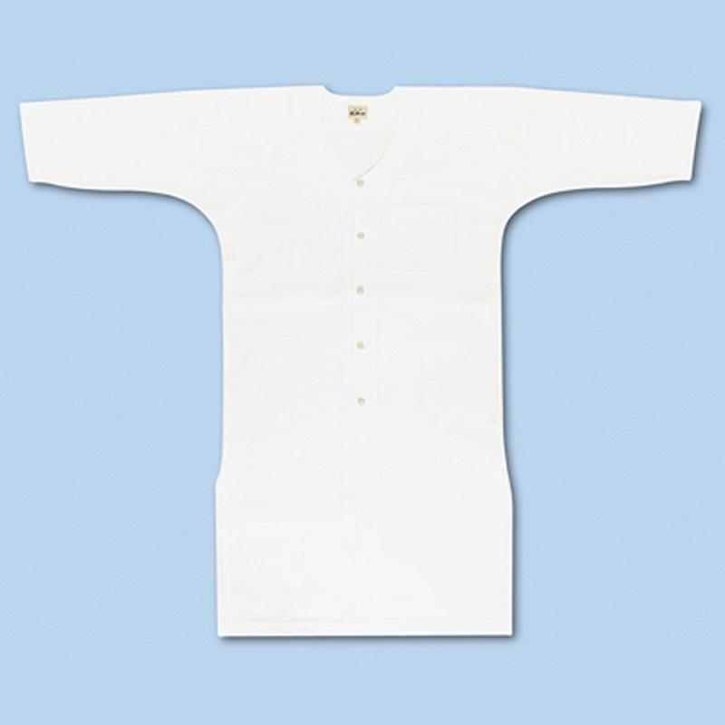 鯉口シャツ 江戸一 【晒】長尺 大人用鯉口シャツ(超々巾広)