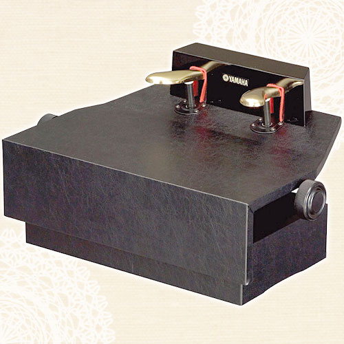 ヤマハピアノ補助ペダル(高級ネジ式高低両ハンドルタイプ)HP-705【メーカー直送】